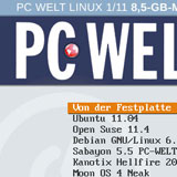 PC WELT LINUX multiboot DVD with ISOLINUX